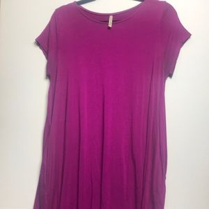 Mittoshop fuscia tunic/dress